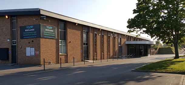 Dance class at Westlands, Yeovil, Somerset